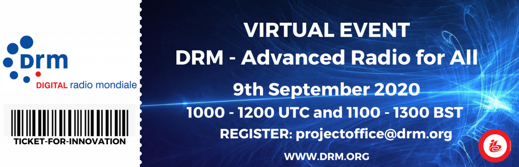 DRM Virtual Event